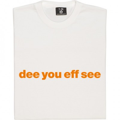 "Dundee United ""Dee You Eff See"""