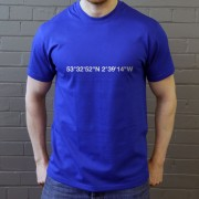 Wigan Athletic: DW Stadium Coordinates T-Shirt