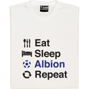 Eat Sleep Albion Repeat T-Shirt