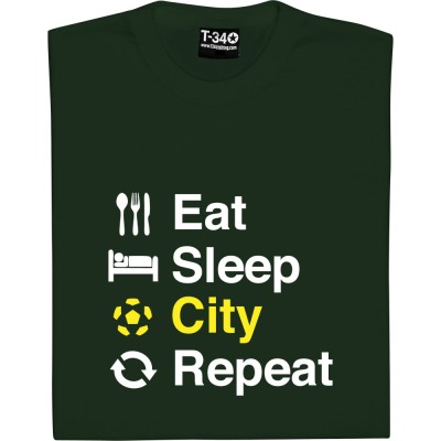 Eat Sleep Norwich Repeat