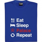 Eat Sleep Palace Repeat T-Shirt