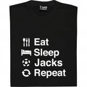 Eat Sleep Swansea Repeat T-Shirt