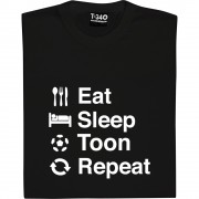 Eat Sleep Toon Repeat T-Shirt