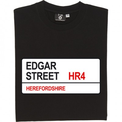 Hereford United: Edgar Street HR4 Road Sign