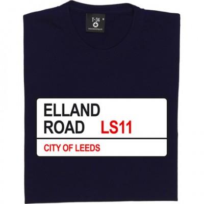 Leeds United: Elland Road LS11 Road Sign