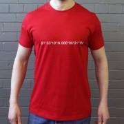 Emirates Stadium Coordinates T-Shirt