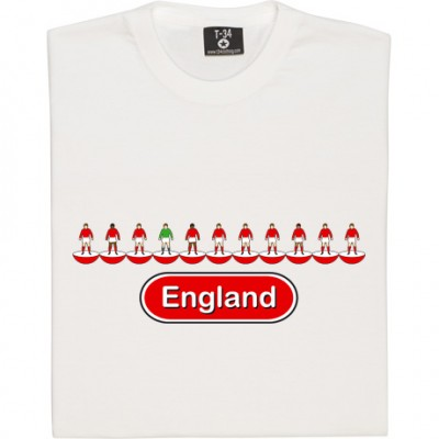 England Table Football (Red Away Kit)
