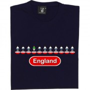 England Table Football T-Shirt