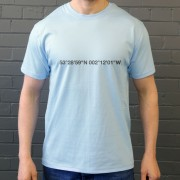 Manchester City: Etihad Stadium Coordinates T-Shirt