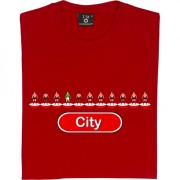 Exeter City Table Football T-Shirt