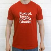 Fleetwood Town FC: Foxtrot Tango Foxtrot Charlie T-Shirt