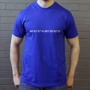 Portsmouth: Fratton Park Coordinates T-Shirt