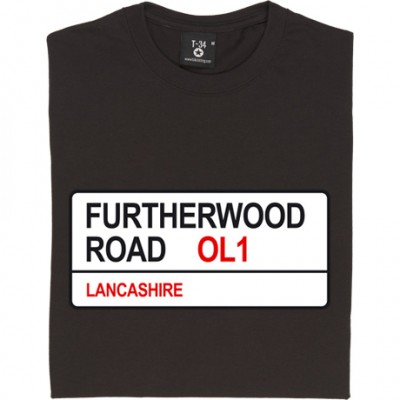 Oldham Athletic: Furtherwood Road OL1 Road Sign