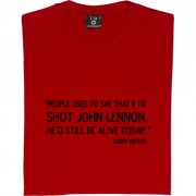 "Garry Birtles ""John Lennon"" Quote T-Shirt"