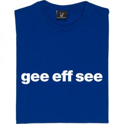 """Gillingham """"Gee Eff See"""""""