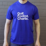 Gillingham Football Club: Golf Foxtrot Charlie T-Shirt
