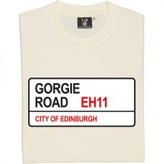 Heart of Midlothian: Gorgie Road EH11 Road Sign T-Shirt