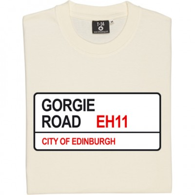 Heart of Midlothian: Gorgie Road EH11 Road Sign