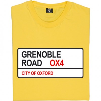 Grenoble Road OX4 Road Sign