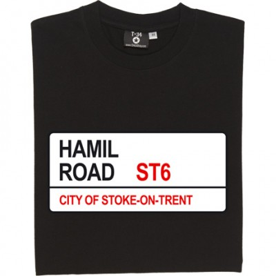 Port Vale: Hamil Road ST6 Road Sign