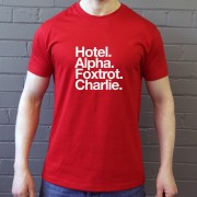 Hamilton Academical FC: hotel Alpha Foxtrot Charlie T-Shirt