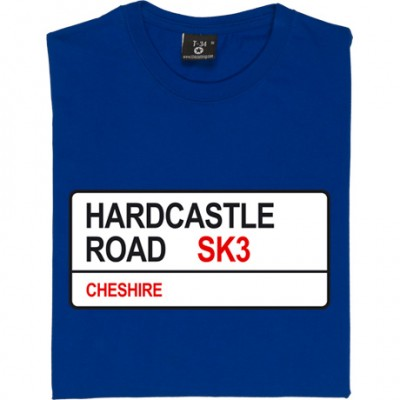 Stockport County: Hardcastle Road SK3 Road Sign