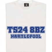 Hartlepool United Postcode T-Shirt