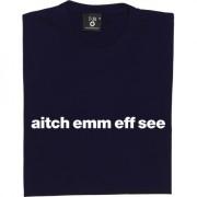 "Heart of Midlothian ""Aitch Emm Eff See"" T-Shirt"
