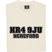 Hereford United Postcode T-Shirt