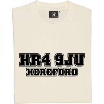 Hereford United Postcode