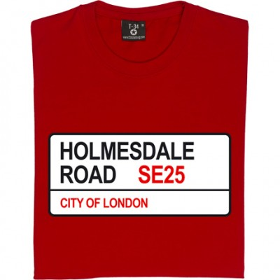 Crystal Palace: Holmesdale Road SE25 Road Sign