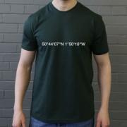 Plymouth Argyle: Home Park Coordinates T-Shirt
