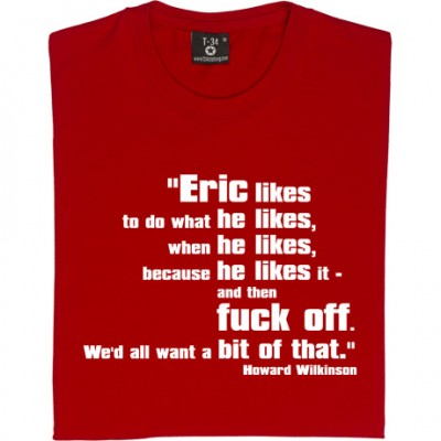 Eric Likes to Do...