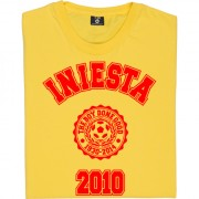 Iniesta 2010 T-Shirt