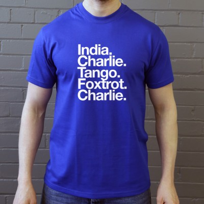 Inverness CT: India Charlie Tango Foxtrot Charlie