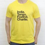 Ipswich Town FC: India Tango Foxtrot Charlie T-Shirt