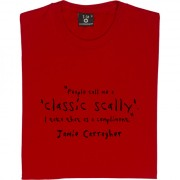 "Jamie Carragher ""Classic Scally"" Quote T-Shirt"