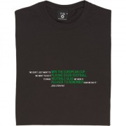 "Jock Stein ""Good Football"" Quote T-Shirt"