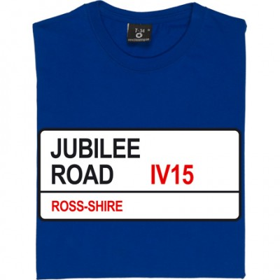Ross County: Jubilee Road IV15 Road Sign