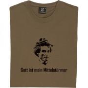 Jurgen Klinsmann Gott ist mein Mittelsturmer T-Shirt