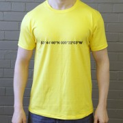 Hull City: KCOM Stadium Coordinates T-Shirt