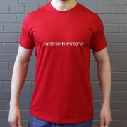 Doncaster Rovers: Keepmoat Stadium Coordinates T-Shirt