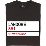 Landore SA1 Road Sign T-Shirt