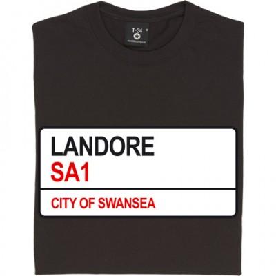 Landore SA1 Road Sign