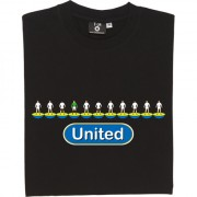Leeds United Table Football T-Shirt
