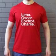 Leyton Orient FC: Lima Oscar Foxtrot Charlie T-Shirt
