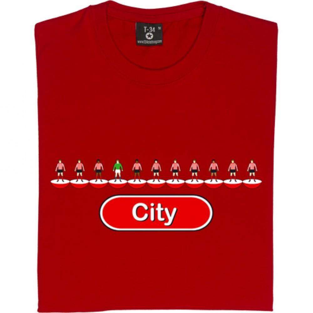 Lincoln City Table Football T Shirt Theboydonegood