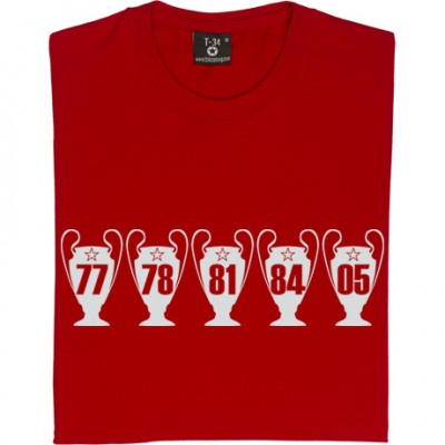 Liverpool Five European Cups
