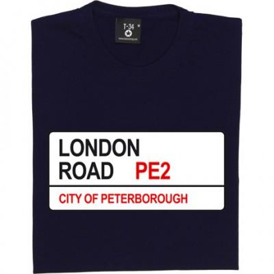 Peterborough FC: London Road PE2 Road Sign