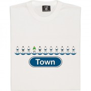 Luton Town Table Football T-Shirt